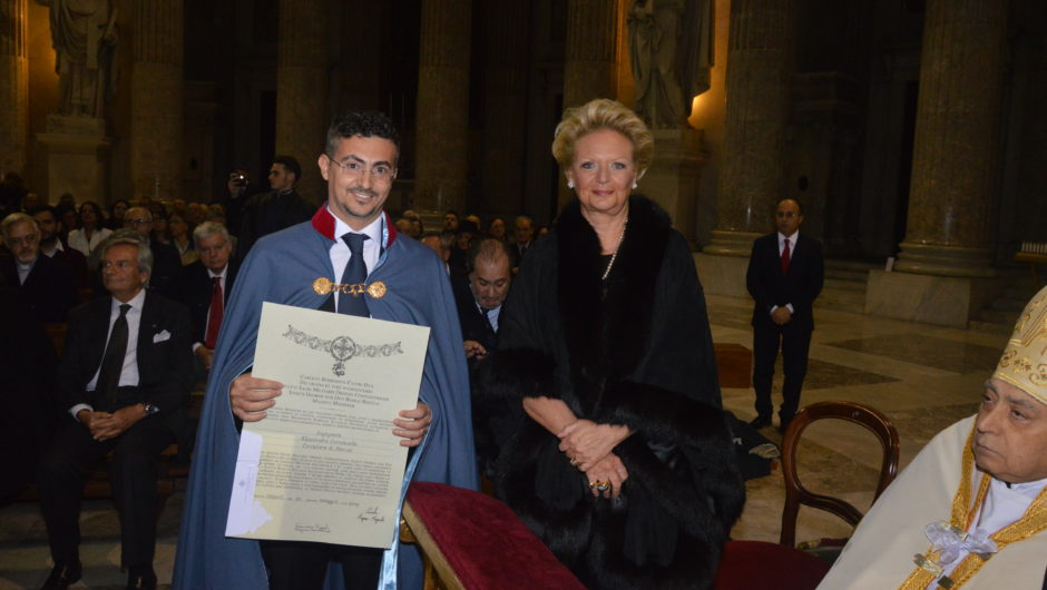 CAMPANIA: INVESTITURE CEREMONY IN THE PRESENCE OF H.R.H. THE GRAND PREFECT