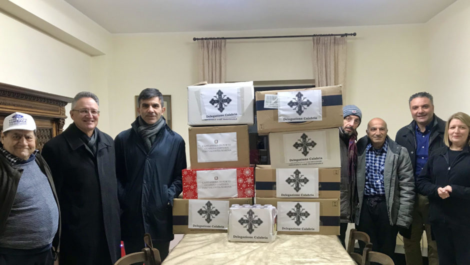 CALABRIA: SEVERAL DONATIONS CARRIED OUT IN THE TERRITORY