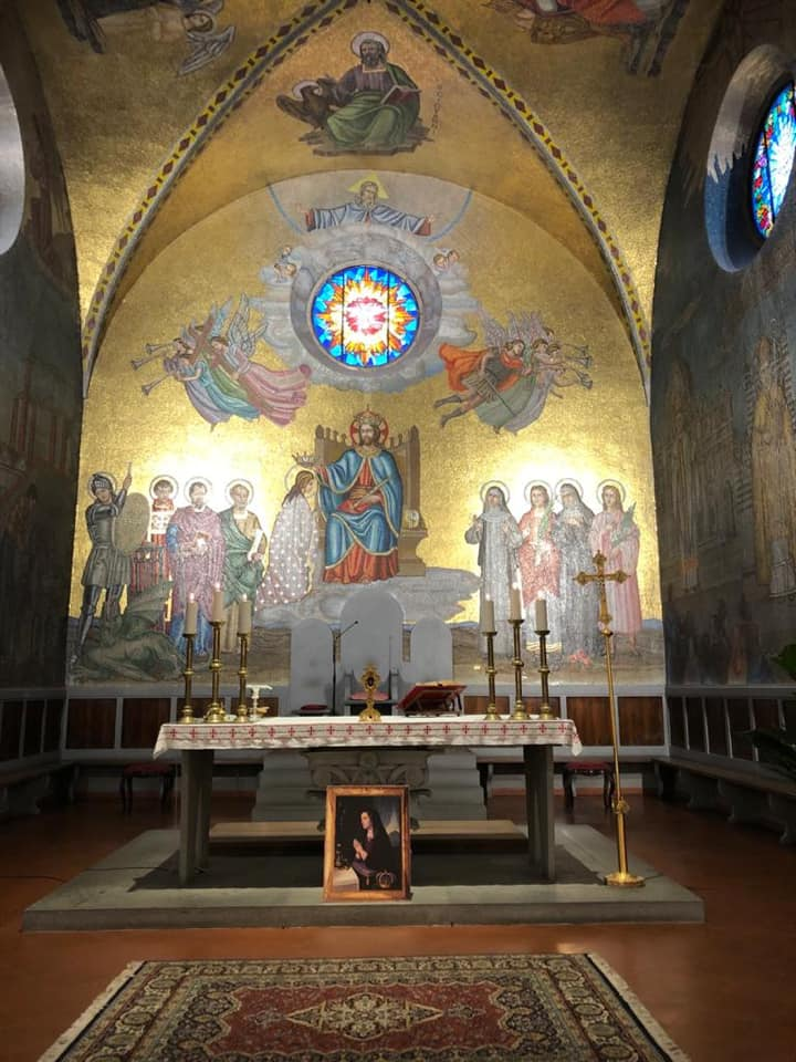 TUSCANY: HOLY MASS IN HONOUR OF MARIA CRISTINA OF SAVOY