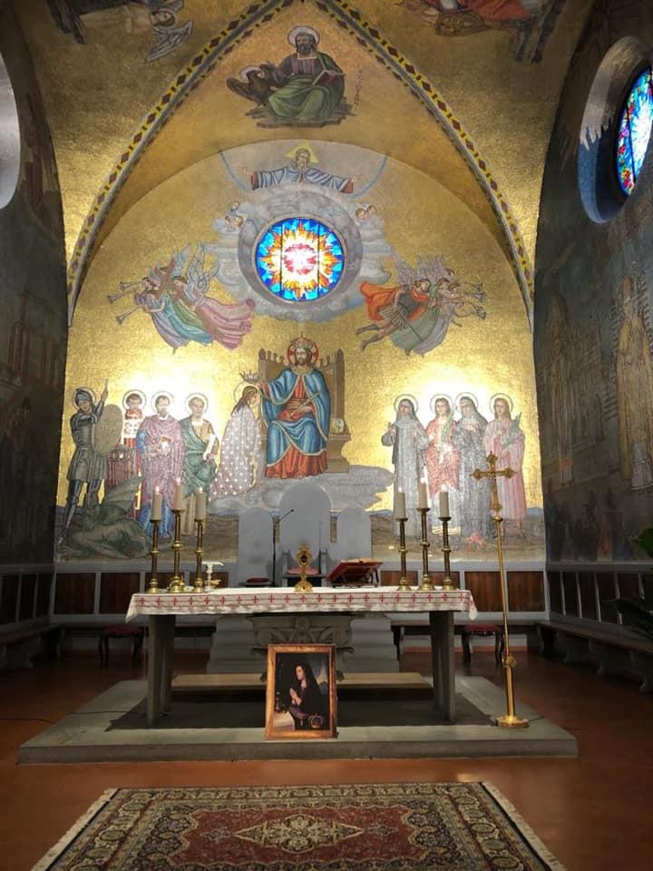 TOSCANA: MISA EN HONOR DE MARIA CRISTINA DE SABOYA