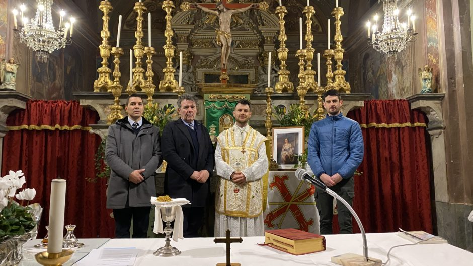 PIEDMONT: MASS AND DONATION IN CUNEO