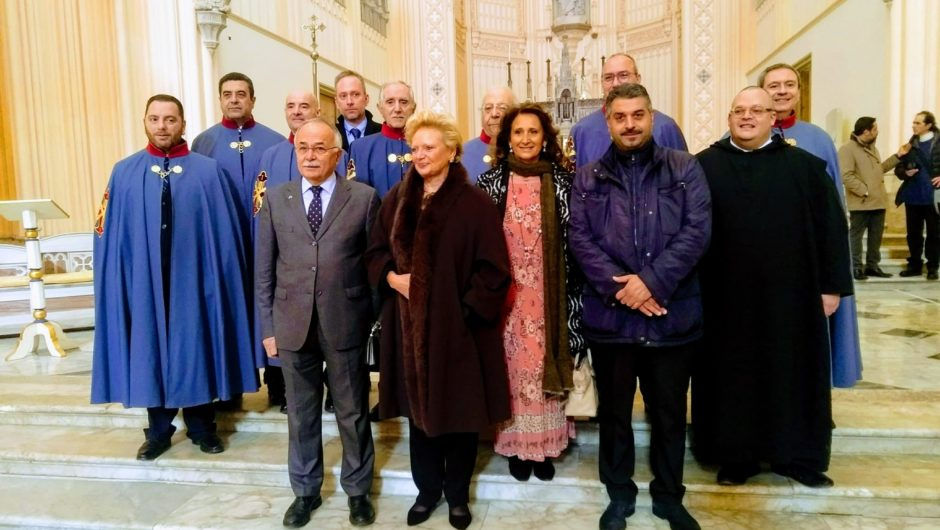 MASS IN GAETA IN THE PRESENCE OF H.R.H. THE GRAND PREFECT