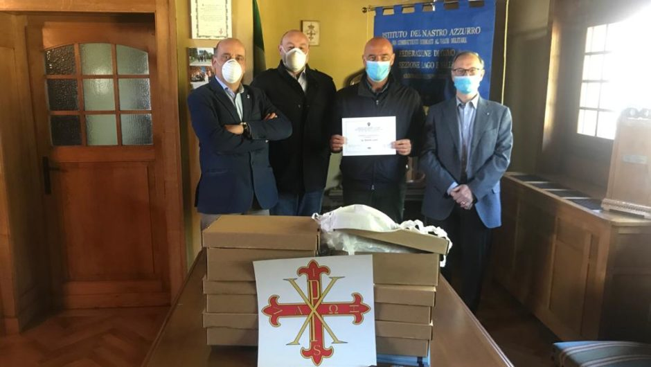 LOMBARDY: DONATION OF MASKS IN COMO