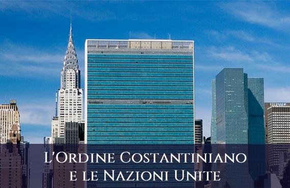 Sacro Militare Ordine Costantiniano di San Giorgio e le Nazioni Unite