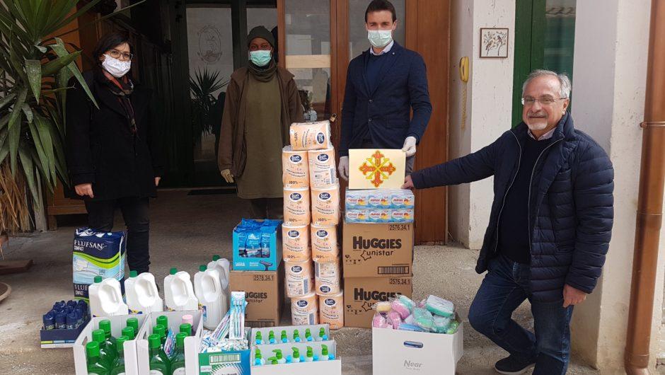 SICILIA: CONTINUANO GLI AIUTI ALLA MISSIONE SPERANZA E CARITA' E ALLA MAGIONE