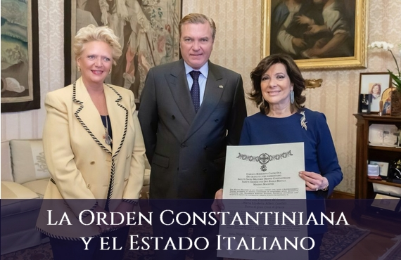 Sagrada Orden Militar y Constantiniana de San Jorge y el Estado Italiano