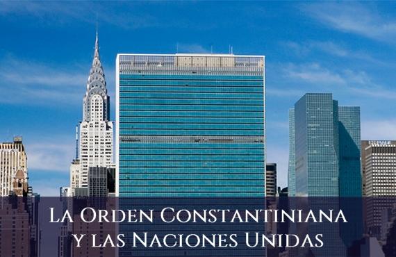 Sagrada Orden Militar y Constantiniana de San Jorge y las Naciones Unidas