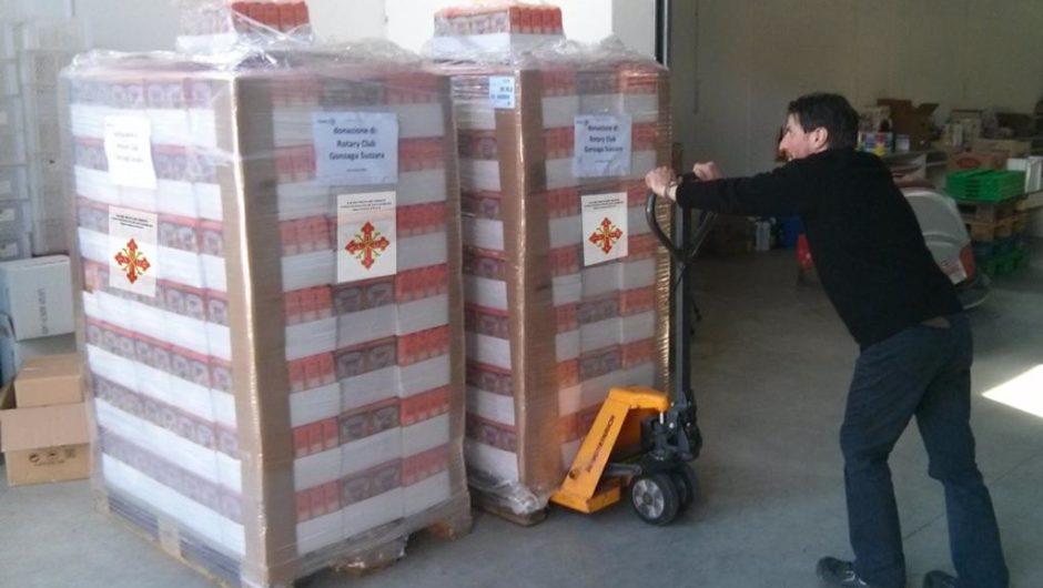 LOMBARDIA: DONACIÓN A LA CARITAS DIOCESANA DE BRESCIA