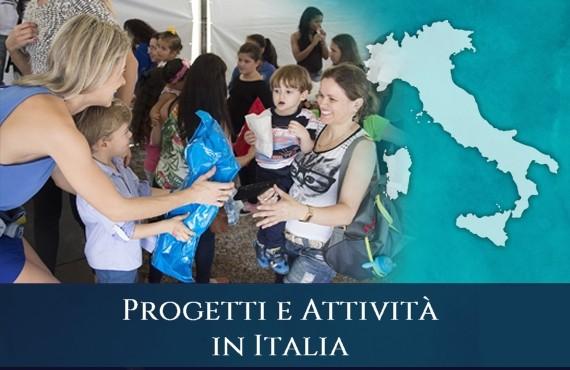 Sacro Militare Ordine Costantiniano delle Due Sicilie - Progetti e Attività in Italia