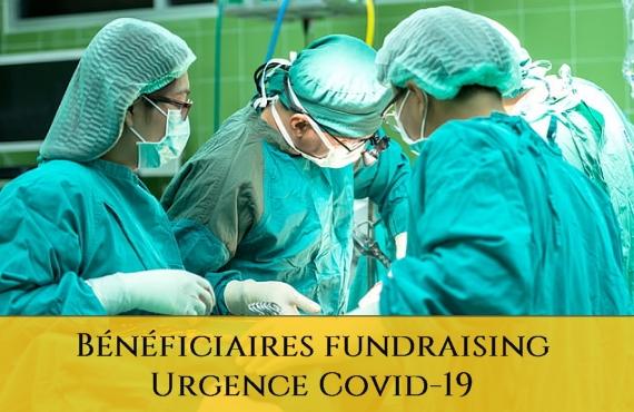 Ordre Sacre et Militaire Constantinien de Saint-Georges - Bénéficiaires Fundraising Urgence Covid-19