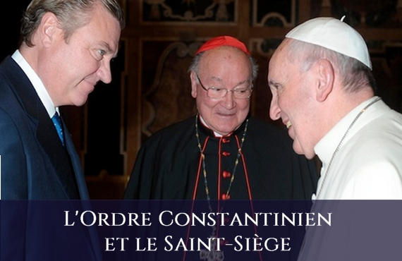 Ordre Sacre et Militaire Constantinien de Saint-Georges et le Saint Siège