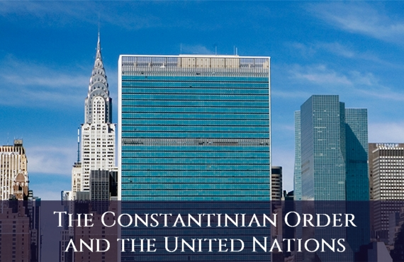 Sacred Military Constantinian Order of Saint George and the United Nations