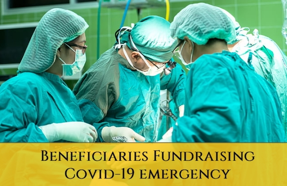 Sacred Military Constantinian Order of Saint George - Beneficiaries Fundraising Covid-19 Emergency