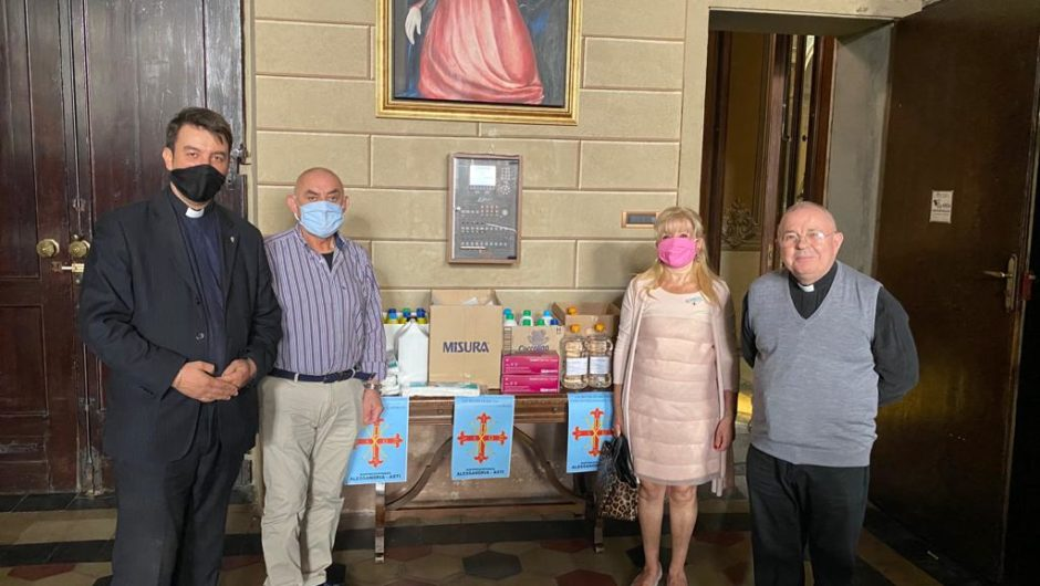 PIEDMONT: ANOTHER DONATION IN ALEXANDRIA